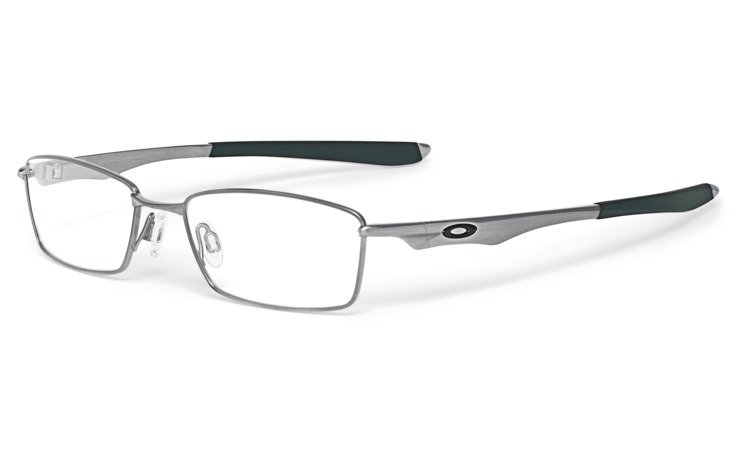 oakley optical frame wingspan brushed chrome ox5040 02