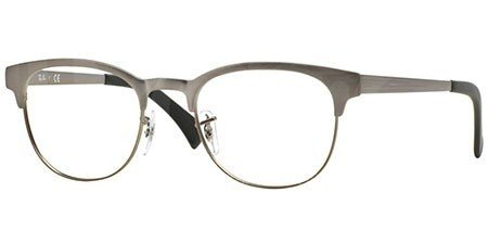 ray ban optical frame clubmaster metal rb6317 2834