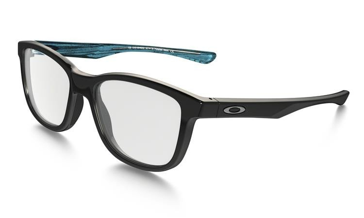 oakley optical 23os  Oakley Optical Frame CROSS STEP Polished Black OX8106-02