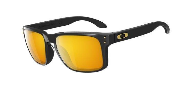 oakley white  Okulary HOLBROOK SHAUN WHITE Polished Black/24K Iridium OO9102-08