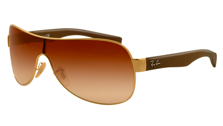 How to Identify Genuine Ray-Ban Aviator Sunglasses The Ray-Ban logo is featured on. Again check the size, position, font & clarity carefully. The logo should not peel or flake. The word 'Ray-Ban' followed by the size code are located on the underside of the metal nose bar. Check that the code matches the size code detailed on the inside.