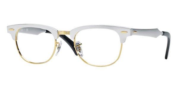 ray ban clubmaster aluminum review  Ban Optical frame CLUBMASTER ALUMINIUM RB6295 - 2806