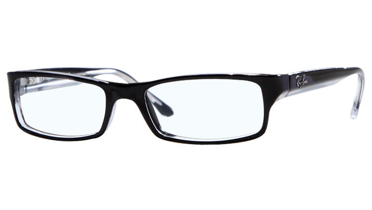 Rimless Glasses Transparent Arms : Ray-Ban Optical frame RB5114 - 2034