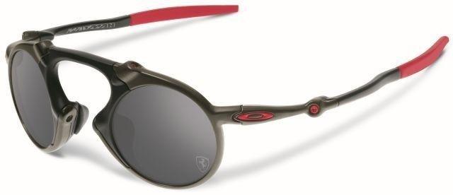 9b2068237f Oakley Sunglasses MADMAN FERRARI COLLECTION Dark Carbon Black Iridium  Polarized OO6019-06