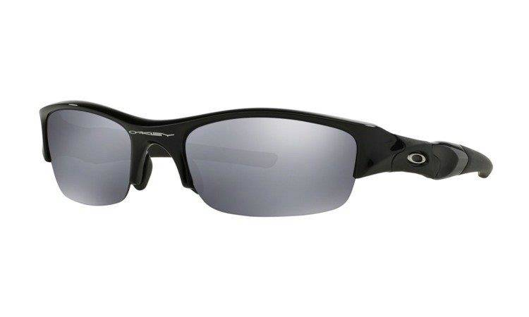 Oakley Okulary FLAK JACKET Jet Black/Black Iridium 03-881