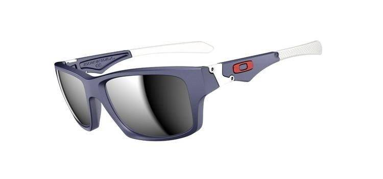 Oakley Okulary JUPITER SQUARED Matte Navy/Chrome Iridium OO9135-02