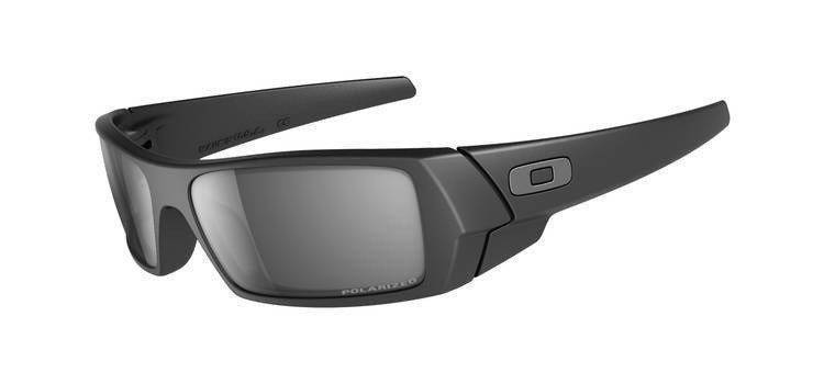 Oakley Sunglasses Gascan Matte Black /Black Iridium Polarized 12-856