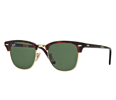 Ray-Ban Okulary CLUBMASTER FOLDING RB2176 - 990