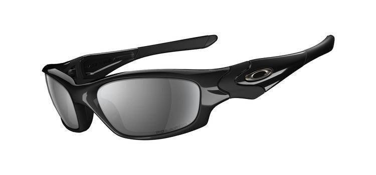 Oakley Sunglasses Straight Jacket Polished Black/Black Iridium 12-935