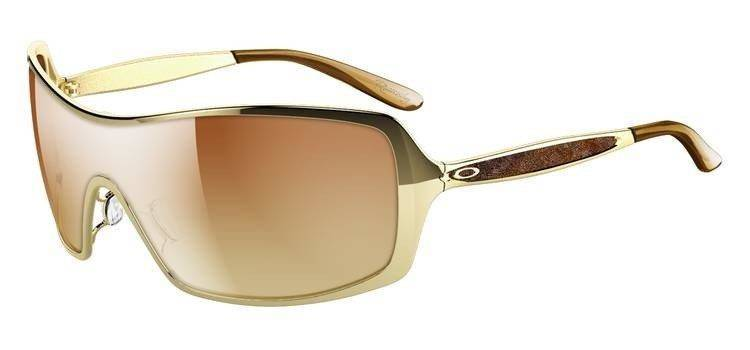 Oakley Okulary REMEDY Polished Gold/VR50 Brown Gradient OO4053-01