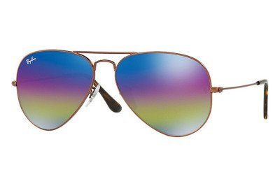 Ray-Ban Chris Sunglasses Matte Havana Rubber/Poly Gradient Brown, One Size. Ray-Ban Men's Large Aviator Gold Sunglasses. RB 55 Caravan. Ray-Ban RB Icons Large Aviator Gold Unisex Sunglasses. Ray-Ban Silver Aviator Mens Sunglasses.