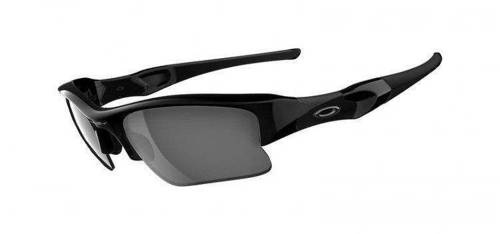 Oakley Sunglasses FLAK JACKET XLJ Jet Black/Black Iridium 03-915
