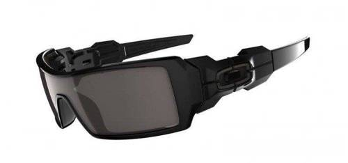 Oakley Sunglasses Oil Rig Polished Black / Warm Grey 03-460
