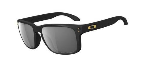 Oakley Sunglasses  HOLBROOK SHAUN WHITE Matte Black/Grey Polarized OO9102-17