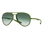Ray-Ban Sunglasses AVIATOR LITEFORCE RB4180 - 6086/8E