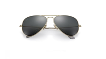 Ray-Ban Sunglasses AVIATOR SOLID GOLD LIMITED EDITION RB3025K - 160/N5