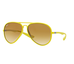 Ray-Ban Okulary AVIATOR LITEFORCE RB4180 - 6085/2L