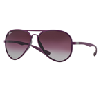 Ray-Ban Okulary AVIATOR LITEFORCE RB4180 - 60874Q