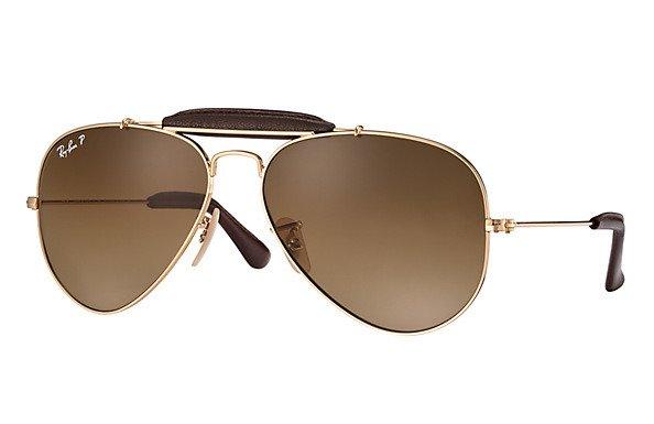 16831c502 Ray-Ban Sunglasses Polarized AVIATOR OUTDOORSMAN CRAFT RB3422Q-001M2 |  Optique.pl