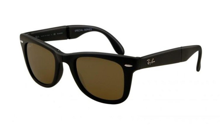 ea745316722 Ray-Ban Sunglasses WAYFARER FOLDING RB4105 - 601S55