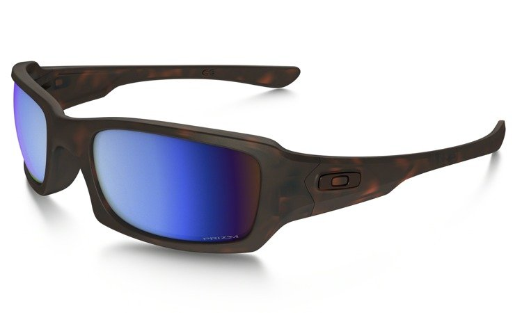 f0ab75ef2e Oakley Sunglasses FIVES SQUARED Matte Tortoise Prizm Deep H2O Polarized  OO9238-17