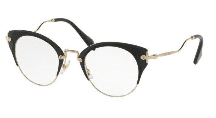 miu miu optical frame mu52pv 1ab1o1 - Miu Miu Optical Frames