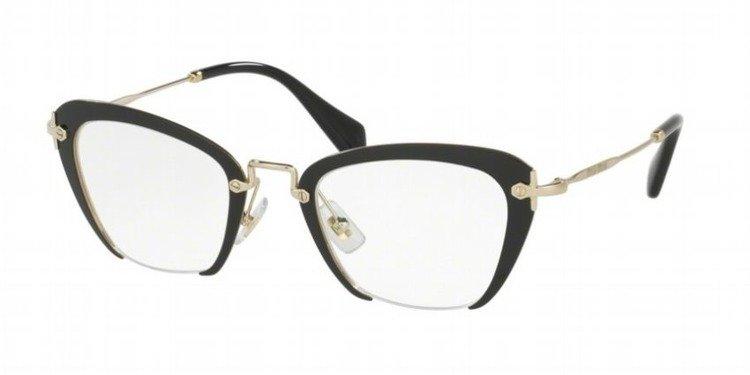 miu miu optical frame mu54ov 1ab1o1 - Miu Miu Optical Frames