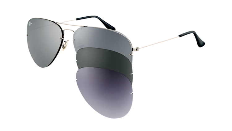 2c74cca523 ... Ray-Ban Sunglasses AVIATOR FLIP OUT RB3460 - 004 6G
