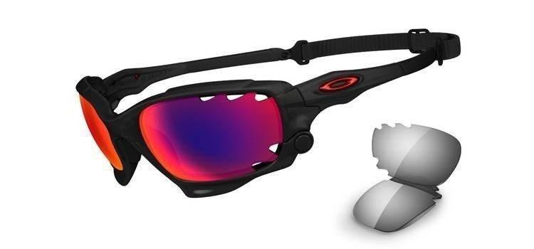 aec7b68917 Oakley Sunglasses RACING JACKET Matte Black Ink OO Red Iridium Polarized  Vented   Black Iridium OO9171-20