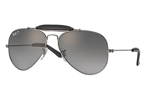 2b68a65a8 Ray-Ban Sunglasses Polarized AVIATOR OUTDOORSMAN CRAFT RB3422Q-004M3 |  Optique.pl