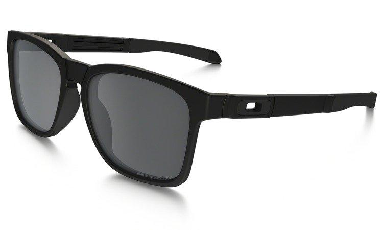 a2c8afa6a6b Oakley Sunglasses CATALYST Matte Black Black Iridium Polarized OO9272-09