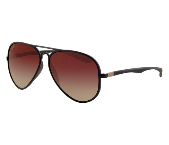 b9b319aee9bb8 Ray-Ban Sunglasses AVIATOR LITEFORCE RB4180 - 883 8G