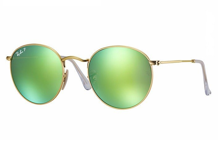 Ray-Ban Sunglasses Polarized ROUND METAL RB3447 - 112 P9  39f63d0e78