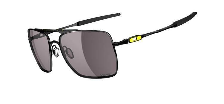 2c93fe082a55bf Oakley Sunglasses DEVATION Polished Black Warm Grey OO4061-10 ...