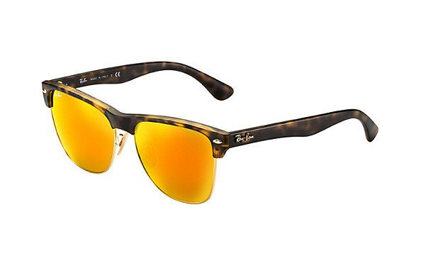 ff44daa439 Ray-Ban Sunglasses CLUBMASTER OVERSIZED RB4175 - 6092 69