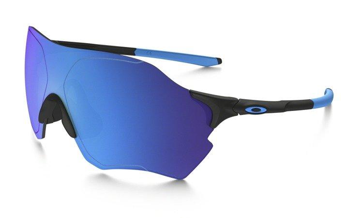 ad2cc6cdd98 Oakley Sunglasses EVZERO RANGE Matte Black  Sapphire Iridium Polarized  OO9327-07