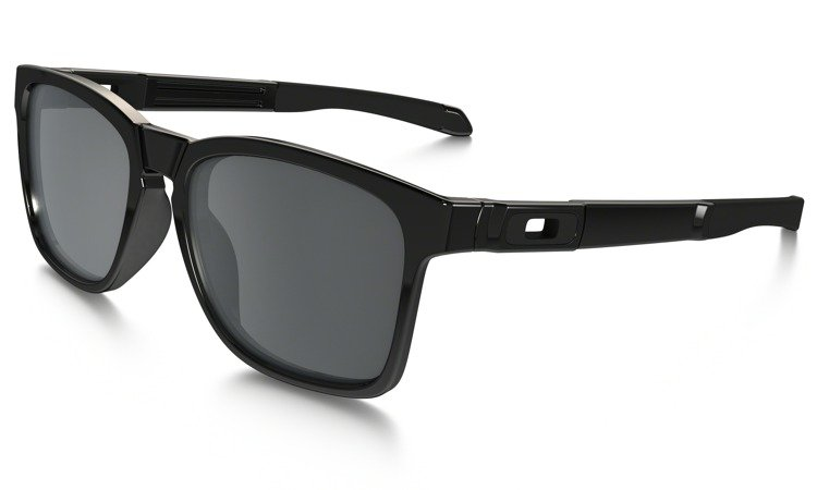 0aaa75356c3 Oakley Sunglasses CATALYST Polished Black Black Iridium OO9272-02 ...
