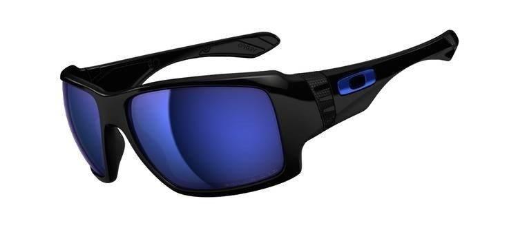 b4042c9128 Oakley Sunglasses BIG TACO Polished Black Ice Iridium Polarized OO9173-06
