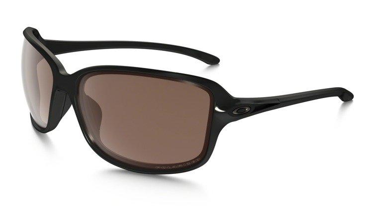 cb00ff03cc6 OAKLEY Sunglasses COHORT Polished Black   VR28 Black Iridium Polarized  OO9301-06
