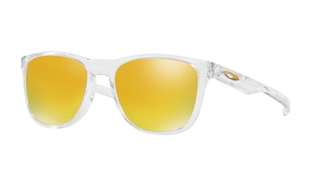 5766b2f6d3 ... Oakley Sunglasses TRILLBE X Polished Clear 24K Iridium OO9340-16 ...