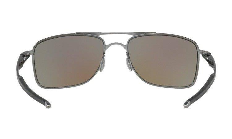 Oakley Okulary przeciwsłoneczne GAUGE 8 Matte Gunmetal Prizm Sapphire Polarized OO4124 06