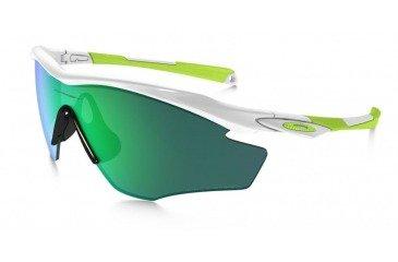 b51af29fa59 Oakley Sunglasses M2 FRAME Polished White Jade Iridium Polarized OO9212-19