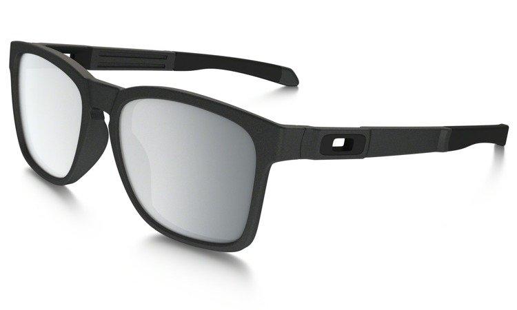 093edde8cf0 ... Oakley Sunglasses CATALYST Steel Chrome Iridium OO9272-03 ...