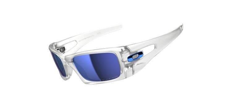 deb3330982a71 Oakley Sunglasses CRANKCASE Matte Clear Ice Iridium Polarized OO9165-09    Optique.pl