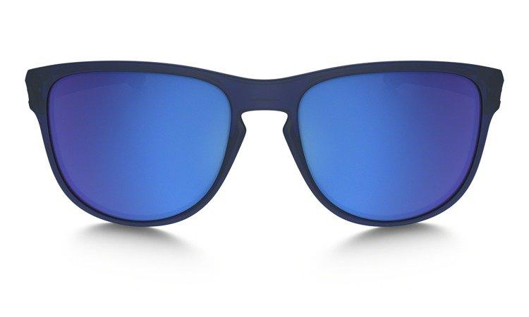 2812cf852e ... Oakley Sunglasses SLIVER R Matte Cristal Blue Sapphire Iridium OO9342-09  ...