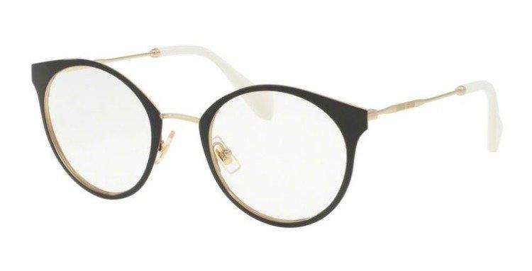 miu miu optical frame mu51pv 1ab1o1 - Miu Miu Optical Frames