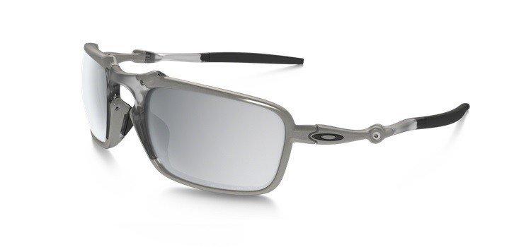 a95b98e934 Oakley Sunglasses BADMAN X TI Chrome Iridium Polarized OO6020-05 ...