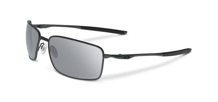 4a8888df0d Oakley Sunglasses SQUARE WIRE Carbon Chrome Iridium Polarized OO4075 ...