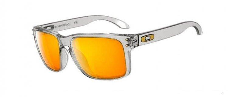 cf32847502 Oakley Sunglasses HOLBROOK SHAUN WHITE POLISHED CLEAR 24K GOLD IRIDIUM  OO9102-19
