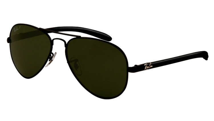 f80743c12a Ray-Ban Sunglasses polarized AVIATOR CARBON FIBRE RB8307 - 002 N5 ...